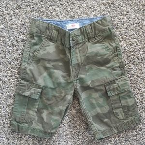 3T Levi's Camo Shorts